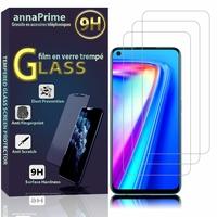 """Realme 7 4G 6.5"""" RMX2155 RMX2151 RMX2163 (non compatible Realme 7 Pro/ 7 5G/ 7i): Lot / Pack de 3 Films de protection d'écran Verre Trempé"""