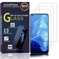 """Realme 7 5G 6.5"""" RMX2111 (non compatible Realme 7 Pro/ 7/ 7i): Lot / Pack de 3 Films de protection d'écran Verre Trempé"""