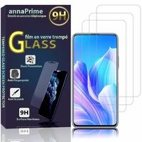 """Huawei Enjoy 20 Plus 5G 6.63"""" FRL-AN00a (non compatible Huawei Enjoy 20 5G 6.6""""): Lot / Pack de 3 Films de protection d'écran Verre Trempé"""