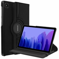 Samsung Galaxy Tab A7 10.4 (2020) SM-T500 SM-T505 SM-T505N SM-T507 [Les Dimensions EXACTES du Tablette: 247.6 x 157.4 x 7 mm]: Etui Cuir PU Support Rotatif 360° - NOIR