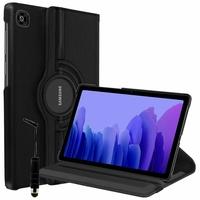 Samsung Galaxy Tab A7 10.4 (2020) SM-T500 SM-T505 SM-T505N SM-T507 [Les Dimensions EXACTES du Tablette: 247.6 x 157.4 x 7 mm]: Etui Cuir PU Support Rotatif 360° + mini Stylet - NOIR