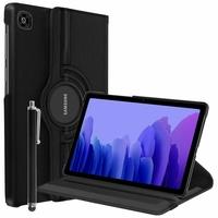 Samsung Galaxy Tab A7 10.4 (2020) SM-T500 SM-T505 SM-T505N SM-T507 [Les Dimensions EXACTES du Tablette: 247.6 x 157.4 x 7 mm]: Etui Cuir PU Support Rotatif 360° + Stylet - NOIR