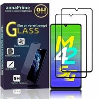 """Samsung Galaxy M42 5G 6.6"""" SM-M426B SM-M426B/DS [Les Dimensions EXACTES du telephone: 164.4 x 75.9 x 8.6 mm]: Lot / Pack de 2 Films de protection d'écran Verre Trempé"""