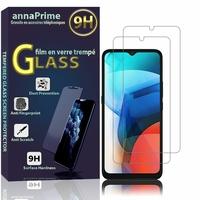"""Motorola Moto E7 6.5"""" XT2052-1 XT2052-2 XT2052-3 XT2052-5 XT2052-6 (non compatible Motorola Moto E7 Power/ E7 Plus): Lot / Pack de 2 Films de protection d'écran Verre Trempé"""