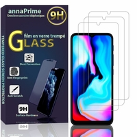 """Motorola Moto E7 Plus 6.5"""" XT2081-1 XT2081-2 (non compatible Motorola Moto E7): Lot / Pack de 3 Films de protection d'écran Verre Trempé"""