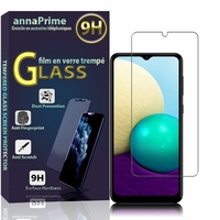 "Samsung Galaxy A02 6.5"" SM-A022F A022F/DS A022M A022M/DS (non compatible Galaxy A02S): 1 Film de protection d'écran Verre Trempé"