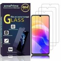 """Huawei Enjoy 20 5G 6.6"""" WKG-AN00 WKG-TN00 (non compatible Huawei Enjoy 20 Plus 5G 6.63""""): Lot / Pack de 3 Films de protection d'écran Verre Trempé"""