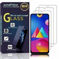 """Samsung Galaxy M02S/ Galaxy F02S 6.5"""" SM-M025F/DS SM-M025F SM-E025F SM-E025F/DS (non compatible Galaxy M02): Lot / Pack de 3 Films de protection d'écran Verre Trempé"""