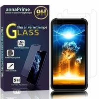 """Blackview BV6300/ BV6300 Pro 5.7"""" [Les Dimensions EXACTES du telephone: 159.6 x 78.2 x 12.8 mm]: Lot / Pack de 2 Films de protection d'écran Verre Trempé"""