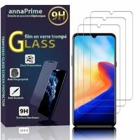 """Blackview A80 (2020) 6.21"""" (non compatible Blackview A80 Pro 6.49"""") [Les Dimensions EXACTES du telephone: 157.6 x 76.3 x 8.8 mm]: Lot / Pack de 3 Films de protection d'écran Verre Trempé"""
