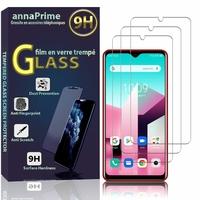 """Blackview A80 Plus 6.49"""" (non compatible Blackview A80 6.21"""") [Les Dimensions EXACTES du telephone: 162.75 x 77 x 8.8 mm]: Lot / Pack de 3 Films de protection d'écran Verre Trempé"""