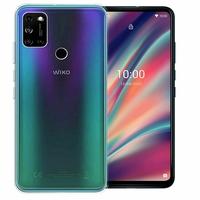 """Wiko View 5 6.55"""" [Les Dimensions EXACTES du telephone: 165.95 x 76.84 x 9.3 mm]: Coque Silicone gel UltraSlim et Ajustement parfait - TRANSPARENT"""