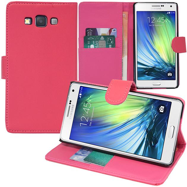 Samsung Galaxy A5 SM-A500F A500H A500K/ A5 Duos SM-A500F/DS SM-A500G/DS A500M/DS (non compatible Galaxy A5 (2016)): Accessoire Etui portefeuille Livre ...
