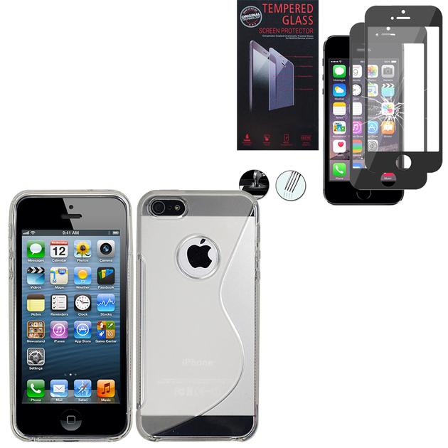 apple iphone 5 5s se coque etui housse pochette accessoires silicone gel motif s line. Black Bedroom Furniture Sets. Home Design Ideas