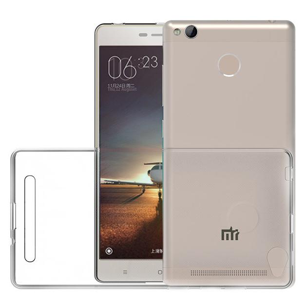 Xiaomi Redmi 3s/ 3s Prime/ Redmi 3x/ Redmi 3 Pro: Accessoire Housse Etui  Coque gel UltraSlim et Ajustement parfait + mini Stylet - TRANSPARENT