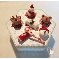 Boite à chocolats, biscuits ou gâteaux - au coeur des arts