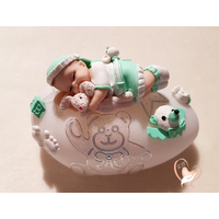 Veilleuse galet lumineux bebe garcon - au coeur des arts