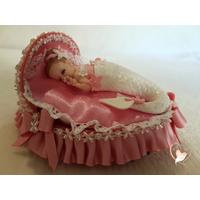 Veilleuse couffin lumineux bebe fille sirène- au coeur des arts
