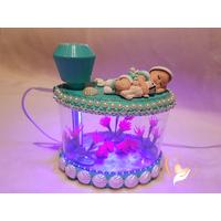 1B-au coeur des arts-Veilleuse Aquarium lumineux bebe garçon