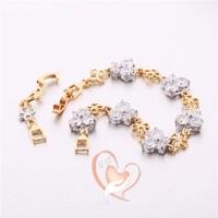 Bracelet plaqué or papillons - au cœur des arts