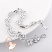 Bracelet plaqué argent petits nœuds - au cœur des arts