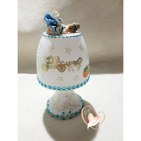 E-au coeur des arts-Veilleuse lampe lumineuse bebe fille cendrillon