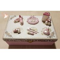 Boîte à bijoux femme - au coeur des arts