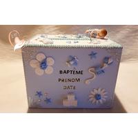 Urne pour baptême bébé garçon - au cœur des arts