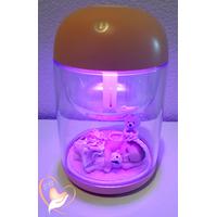 Humidificateur ambiant lumineux bébé fille - au coeur des arts