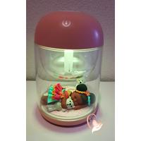 Veilleuse Humidificateur ambiant lumineux bébé fille - au coeur des arts