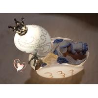 Veilleuse en forme de cygne bébé garçon - au cœur des arts