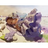 Boîte à musique bébé fille - au coeur des arts