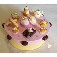 Boîte à gâteaux, à dosettes