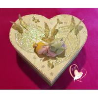 36-Boîte de naissance fée clochette- au coeur des arts