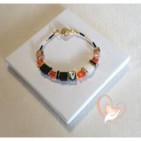 Bracelet Savane plaqué or - au coeur des arts