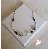 Collier Safary perles polaris - au coeur des arts