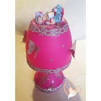 Lampe de chevet rose bébé fille