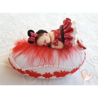 Veilleuse galet lumineux bébé fille Mini- au coeur des arts