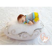 Veilleuse galet lumineux bébé garçon- au coeur des arts