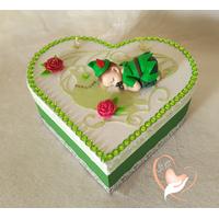 Boîte de naissance bébé garçon robin des bois - au coeur des arts