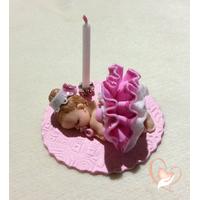 Porte bougie anniversaire Ballerine - au coeur des arts