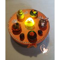 38B-Boîte à biscuits ou chocolats - au coeur des arts