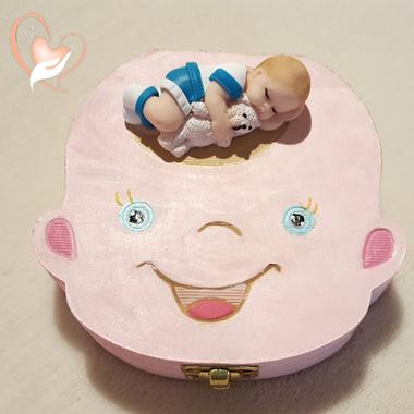 2-au coeur des arts-Boite à dents de lait bebe garcon