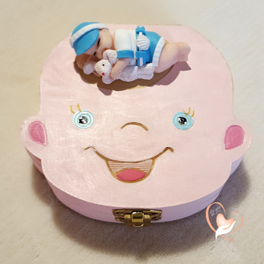 7-au coeur des arts-Boite à dents de lait bebe garcon