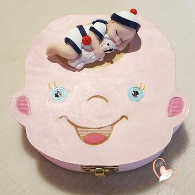 11-au coeur des arts-Boite à dents de lait bebe garcon