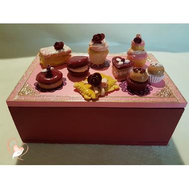 7-au coeur des arts-Boite à sucre ou à biscuits