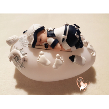 79-au coeur des arts-Veilleuse galet lumineux bebe garcon