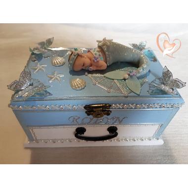 10A-au coeur des arts-Boîte à musique bébé sirène
