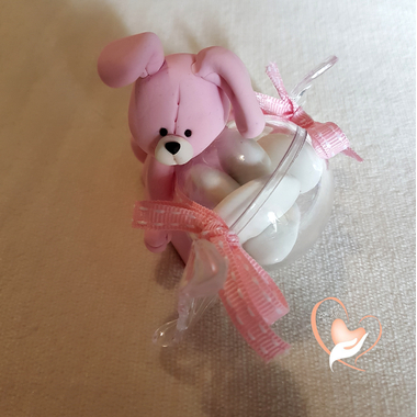 5-au coeur des arts-bonbonniere-boite a dragees-lapin rose