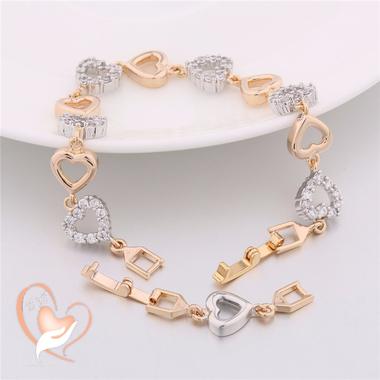 90-au coeur des arts-bracelet-plaque-or-coeur